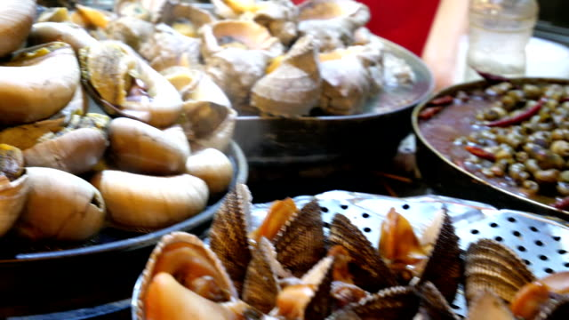 exotic seafood in china - seafood stock videos & royalty-free footage