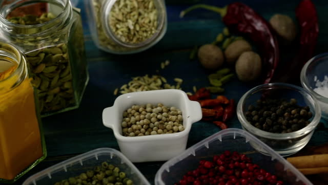 exotic spices - spice stock videos & royalty-free footage