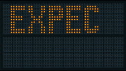 Expect Delays Traffic Sign