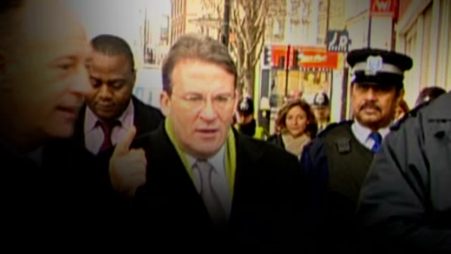 mp expense system to be reviewed graphicised sequence tony mcnulty mp along with with police officers/ mcnulty standing at press conference with... - tony mcnulty stock videos & royalty-free footage