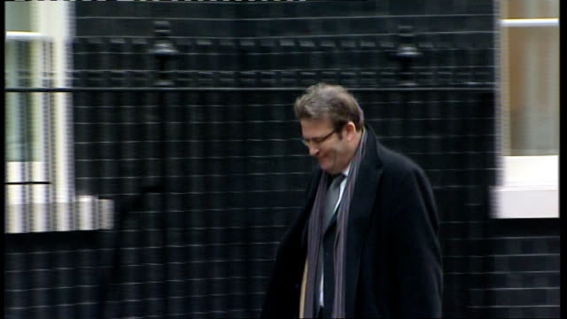 mp expense system to be reviewed lib ext tony mcnulty mp arriving at number 10 - tony mcnulty stock videos & royalty-free footage