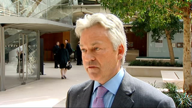 mps' told to pay money back; ext alan duncan mp interview sot - people think i'm a crook / i value my reputation and of parliament so i will pay it... - alan duncan stock videos & royalty-free footage