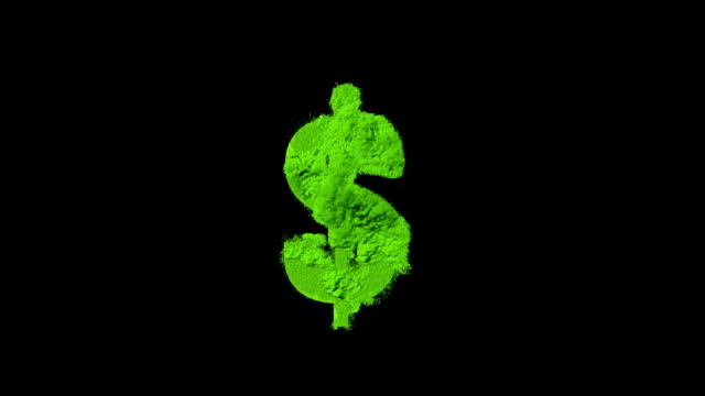 exploding dollar sign - currency symbol stock videos & royalty-free footage
