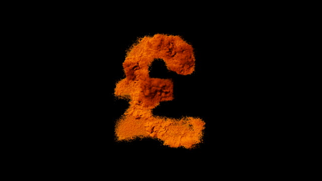 exploding dollar symbol - pound sterling symbol stock videos & royalty-free footage
