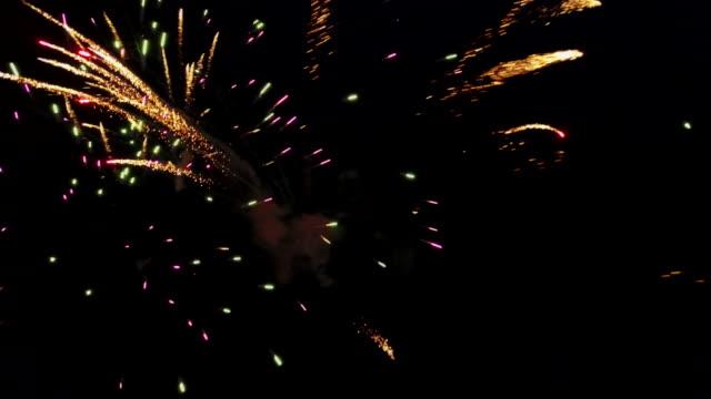 Explodieren Feuerwerk