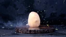 Exploding Potato - 4K Resolution