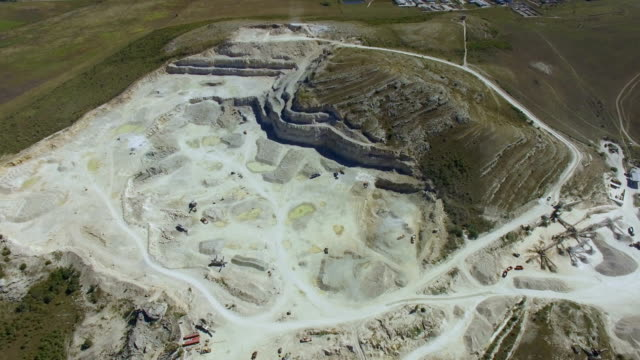 AERIAL: Exploration and production of limestone