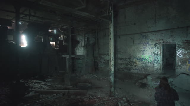 Exploration of abandoned factory in Montreal, Canada