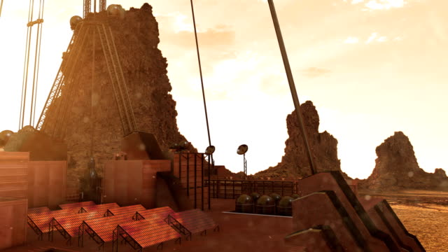 exploration of mars - titan moon stock videos & royalty-free footage