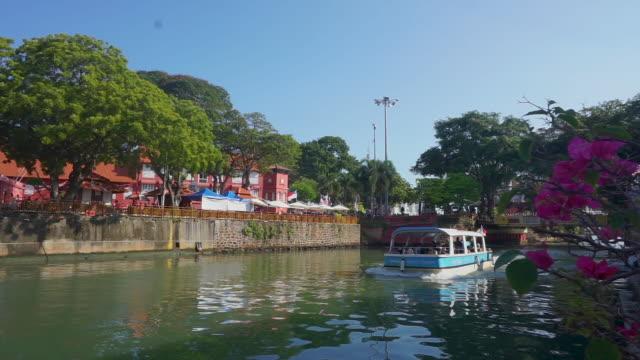 explore the historical city of melaka, malaysia - malaysian culture stock videos & royalty-free footage