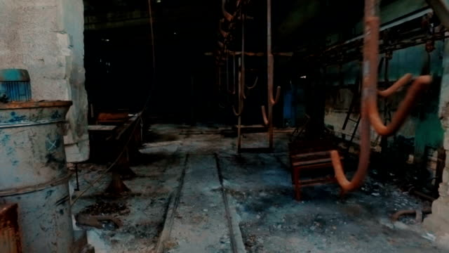 Exploring abandoned factory