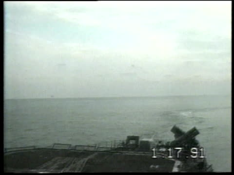 explosion at the back of an aircraft carrier / persian gulf - aircraft carrier stock videos & royalty-free footage