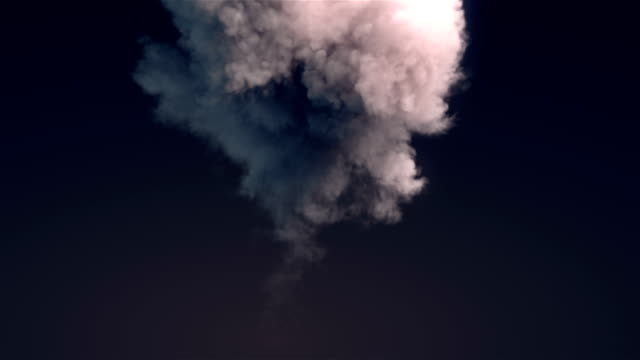 explosion blast element with alpha channel matte. 3d rendering - smoke physical structure stock videos and b-roll footage