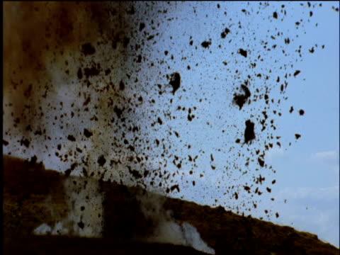 Explosion in peat bog