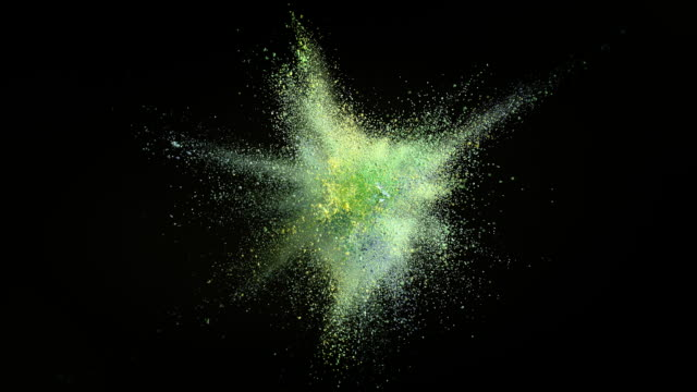 explosion of powder - colours stock videos & royalty-free footage