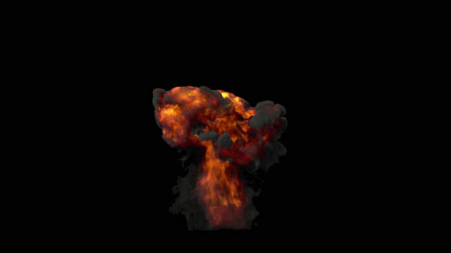 explosion transparent background - weapons of mass destruction stock videos & royalty-free footage