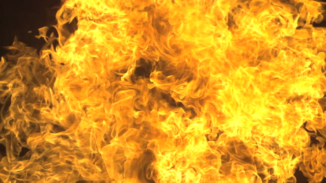 explosion with fire filling frame, wow shot - flame stock videos & royalty-free footage