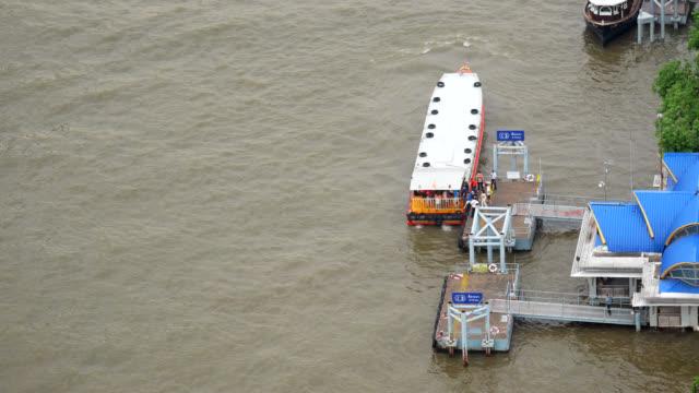 express boat passenger bangkok, thailand - ferry stock videos & royalty-free footage