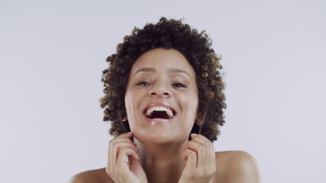 vídeos y material grabado en eventos de stock de expresa tu belleza - belleza natural