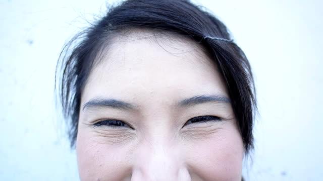 Ausdruck der Augen