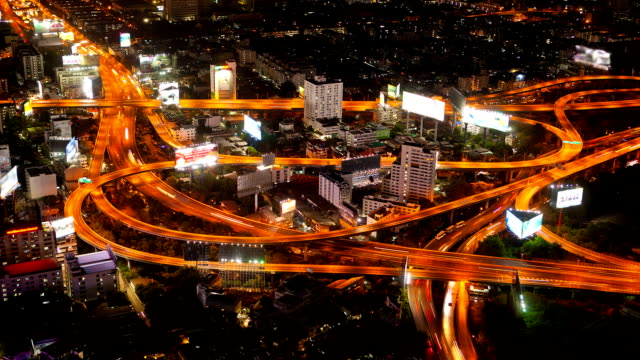 expressway and highway top view - on top of stock videos & royalty-free footage