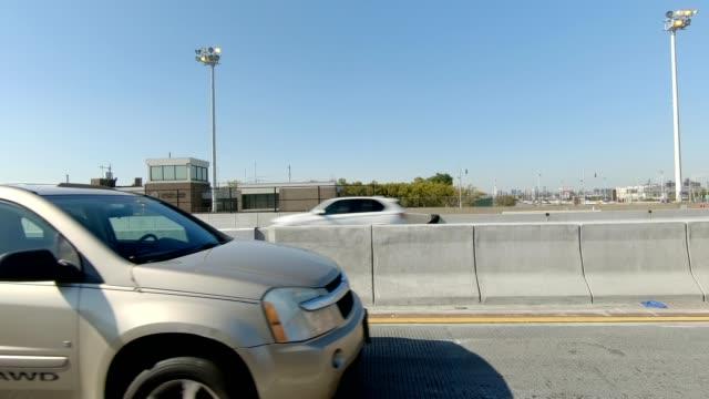 ニューヨーク高速道路 v 同期運転スタジオ プロセス プレート シリーズ左側 - ムービングプロセスプレート点の映像素材/bロール