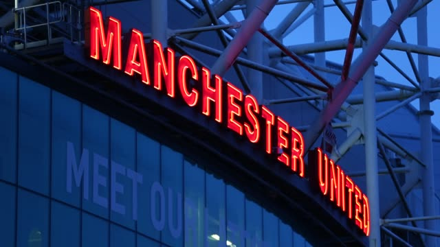 Ext Old Trafford Stadium General View at Old Trafford on January 26 2013 in Manchester England