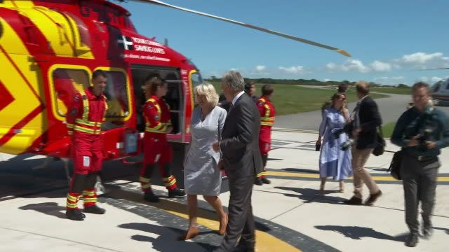 GBR: Charles and Camilla on three-day tour of Cornwall