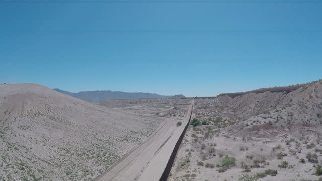 exterior aerial drone shots of the border fence between the usa and northern mexico on july 09 2015 in juarez mexico - recreational drug stock videos & royalty-free footage