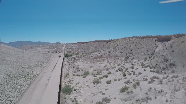 exterior aerial drone shots of the border fence between the usa and northern mexico on july 09, 2015 in juarez, mexico. - drug trafficking stock videos & royalty-free footage