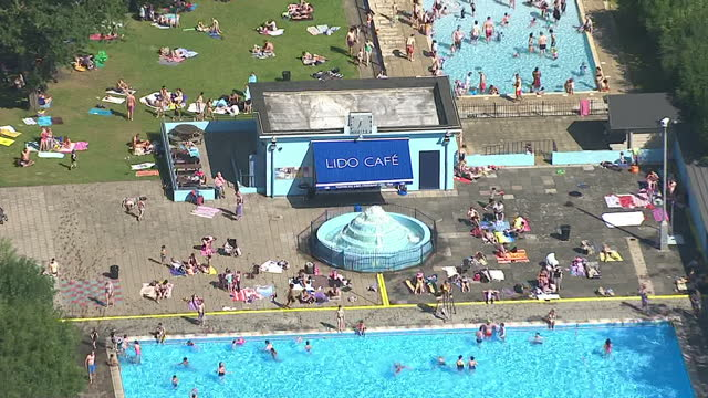Tooting Bec Lido Videos And B Roll Footage Getty Images