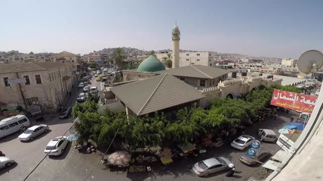 exterior and interior shots of the fatima khatun mosque, also known as the great mosque of jenin which was built in 1566 by fatima khatun, the wife... - bosnia and hercegovina stock videos & royalty-free footage
