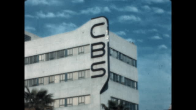 Exterior and signage for CBS Studios in Hollywood