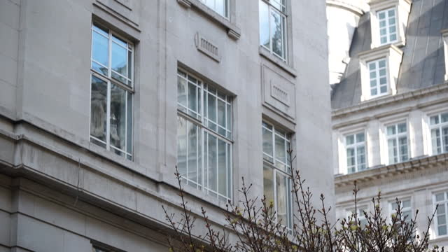 exterior greensill capital offices, where former prime minister, david cameron, worked after leaving office - politics concept stock videos & royalty-free footage