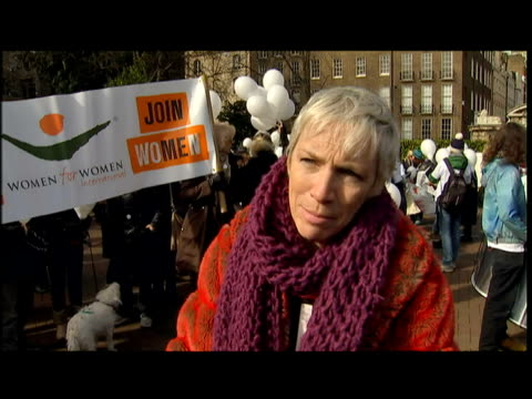 exterior interview Annie Lennox Singer Campaigner
