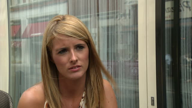 stockvideo's en b-roll-footage met exterior interview helen wood former prostitute the former prostitute at the centre of a super injunction row has told sky news she plans to go... - former