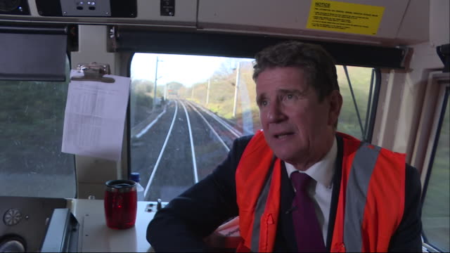 exterior interview with ceo gb railfreight john smith re rail freight trade plans post brexit on 8 january 2019 in london united kingdom - rail freight stock videos and b-roll footage