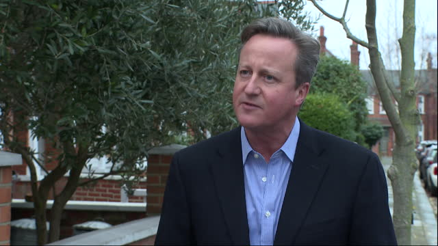 GBR: Interview with former PM David Cameron on Rishi Sunak's coronavirus spending review