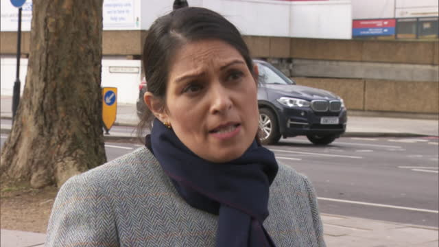 """GBR: Home Secretary Priti Patel said a """"major technical operation"""" had been launched to correct what had happened to the Police National Computer."""