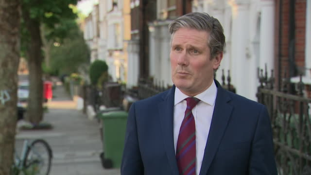 GBR: LABOUR LEADER KEIR STARMER interview on Boris Johnson and Dominic Cummings alleged lock down rule breach