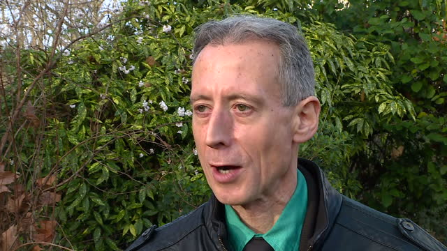 exterior interview with lgbt campaigner peter tatchell on the first time he met the late singer george michael on december 26 2016 in london england - monumento commemorativo temporaneo video stock e b–roll