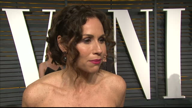 exterior interview with minnie driver on february 22 2015 in los angeles california - minnie driver stock videos and b-roll footage