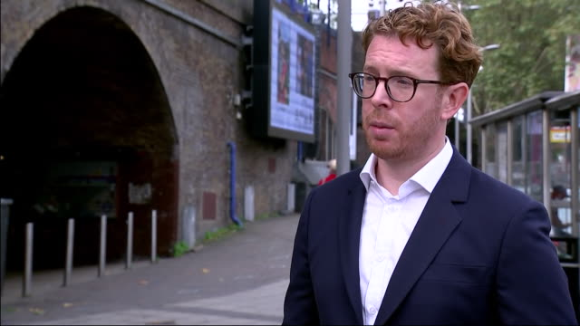 exterior interview with nicholas cullinan,director of national portrait gallery, at the launch of public art exhibition showing portraits of a nation... - photography stock videos & royalty-free footage