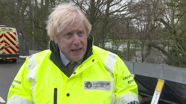 GBR: PM says there will be more rain as he visits flood-hit Didsbury