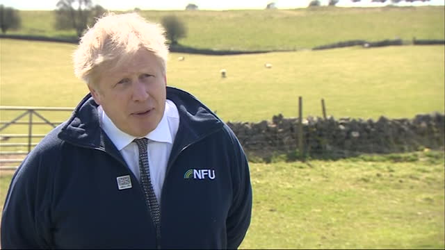 exterior interview with prime minister boris johnson on the post office miscarriage of justice case on 23 april 2021 in stoney middleton, derbyshire,... - human fertility stock videos & royalty-free footage