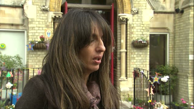 Exterior interview with Samia Badani Resident of Grenfell Tower speaks on disappointment walking out of Inquiry and being left with more questions