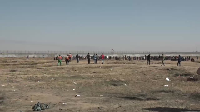GZA: Thousands at Gaza border protests as Palestinians mark 71 years of displacement