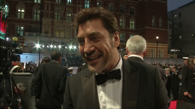 exterior night shots javier bardem speaks about what it means to work on a james bond film javier bardem speaks about working on james bond on... - skyfall 2012 film stock videos and b-roll footage