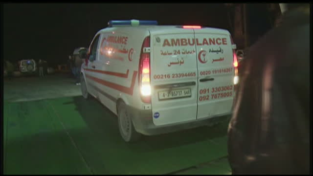 exterior night shots man being moved from ambulance to hospital exterior shots man being moved on stretcher from ambulance to hospital exterior night... - head torch stock videos & royalty-free footage