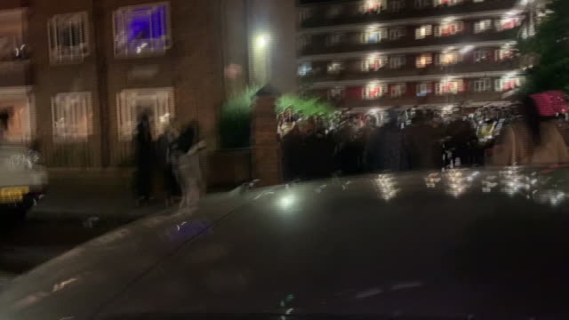 GBR: The Metropolitan Police say seven officers have been injured while breaking up an unlicensed party in West London